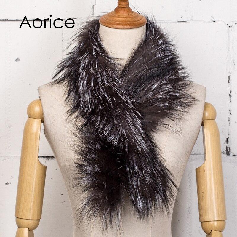HN  SIKEY Trade Co.;LTD Aorice SF754 The new women's fox fur fur scarf