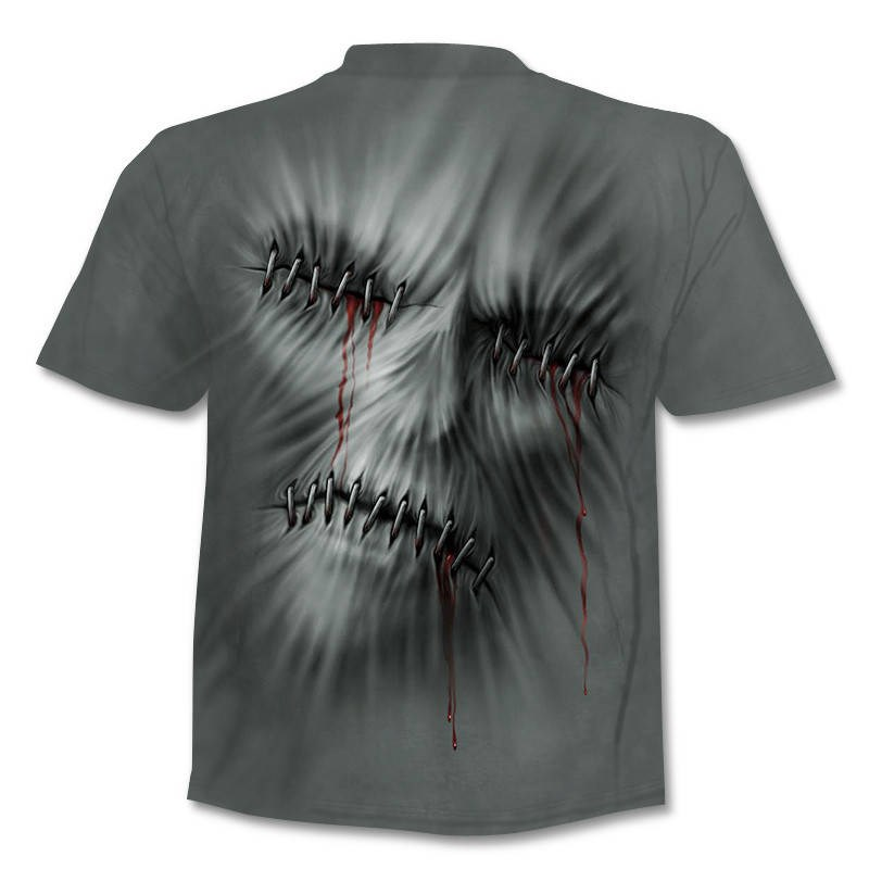 Drop Ship Summer NewFunny skull 3d T Shirt Summer Hipster Short Sleeve Tee Tops Men/Women Anime T-Shirts Homme Short sleeve tops 13