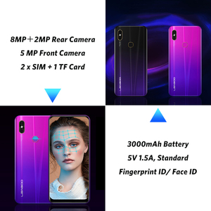 Image 4 - LEAGOO M13  Android 9.0 Smartphone 6.1 HD  IPS Waterdrop Display 4GB RAM 32GB ROM MT6761 3000mAh Dual Cams 4G Mobile Phone
