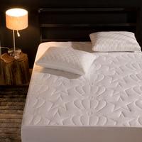 LAGMTA 1 pc 100% Polyester Fiber Mattress Cover Sheet Four Corners With Elastic Sheet