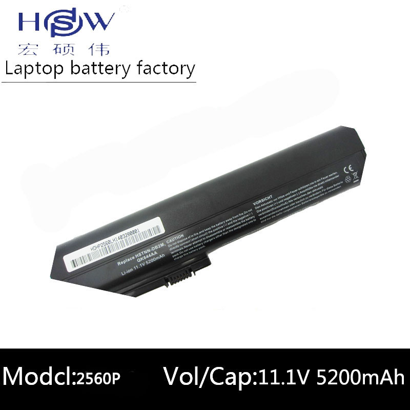 10.8v Original Laptop Battery For 2560p 2570p 632016-542 632417-001 632419-001 632421-001 Hstnn-ub2l Qk644aa Sx06xl Laptop Accessories