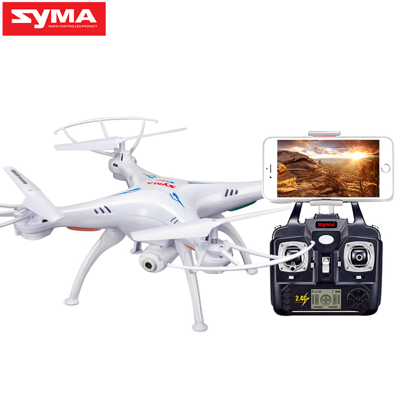 SYMA X5SW Drone with WiFi Camera Real-time Transmit FPV Quadcopter Quadrocopter (X5C Upgrade) HD Camera Dron 4CH RC Helicopter syma x5uw drone wifi camera hd 720p real time transmission fpv 2 4g 4ch rc helicopter quadrocopter mobile control vs x5sw x5c