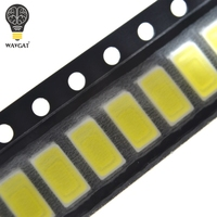 smd 5630 led 100pcs 5630/5730-CW/WW 0.5W-150Ma 50-55lm 6500K White Light SMD 5730 5630 LED 5730 diodes (3.2~3.4V) (2)