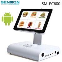 10 дюймов сенсорный экран Android Tablet PC кассовые POS системы с программным обеспечением планшет POS Встроенный принтер Поддержка Wi Fi/ bluetooth