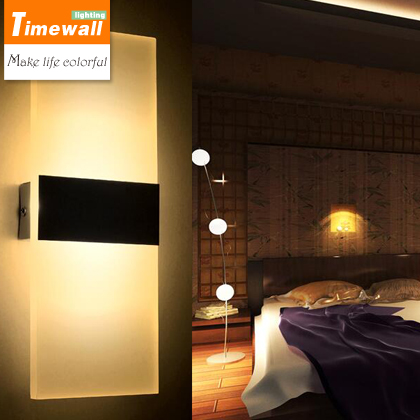 2016 Time-limited Light Wall Light Modern Minimalist Led Wall Living Room Bedroom Bedside Lamp Corridor Balcony Stairs Toilet creative bedside wall lamp modern minimalist rectangular corridor balcony living room bedroom background lighting fixture