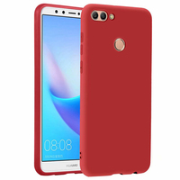 100pcs In stock global version 5.93 For Huawei Enjoy 8 Plus Y9 2018 case Silicone TPU thin cover case Full matte TPU case coque