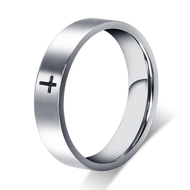 Наивысшего качества классические Европа-западный дизайн серебряный стиль авиационного Titanium стали обручальные кольца обещание для мужчины...