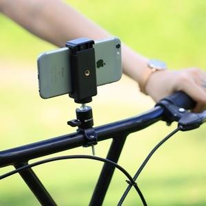 Image 5 - Puluz bicicleta de alumínio guiador tripé bola cabeça adaptador montagem para gopro novo herói/hero7/6/5/xiaoyi/dji osmo câmeras ação