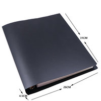 630 Cards Capacity Cards Holder Binders Black Albums For Pokemon Cards CCG MTG Magic Yugioh Board Game book Sleeve Holder