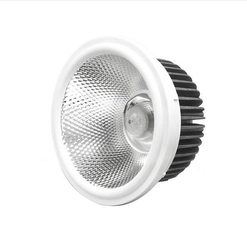 Free AR111 LED Lamp 20W Input AC85V-265V DC12V Spotlight COB Light Ampoule Warm White / Cool White Dimmable 20w cob led ceiling track rail light spotlight lamp display cabinet ac 85 265v warm cool white shop tracking ceiling fixture