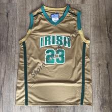 5650923f528 EFKGH Mens 23 LeBron James Vincent St. Mary Irish High School Basketball  Jersey S-XXL
