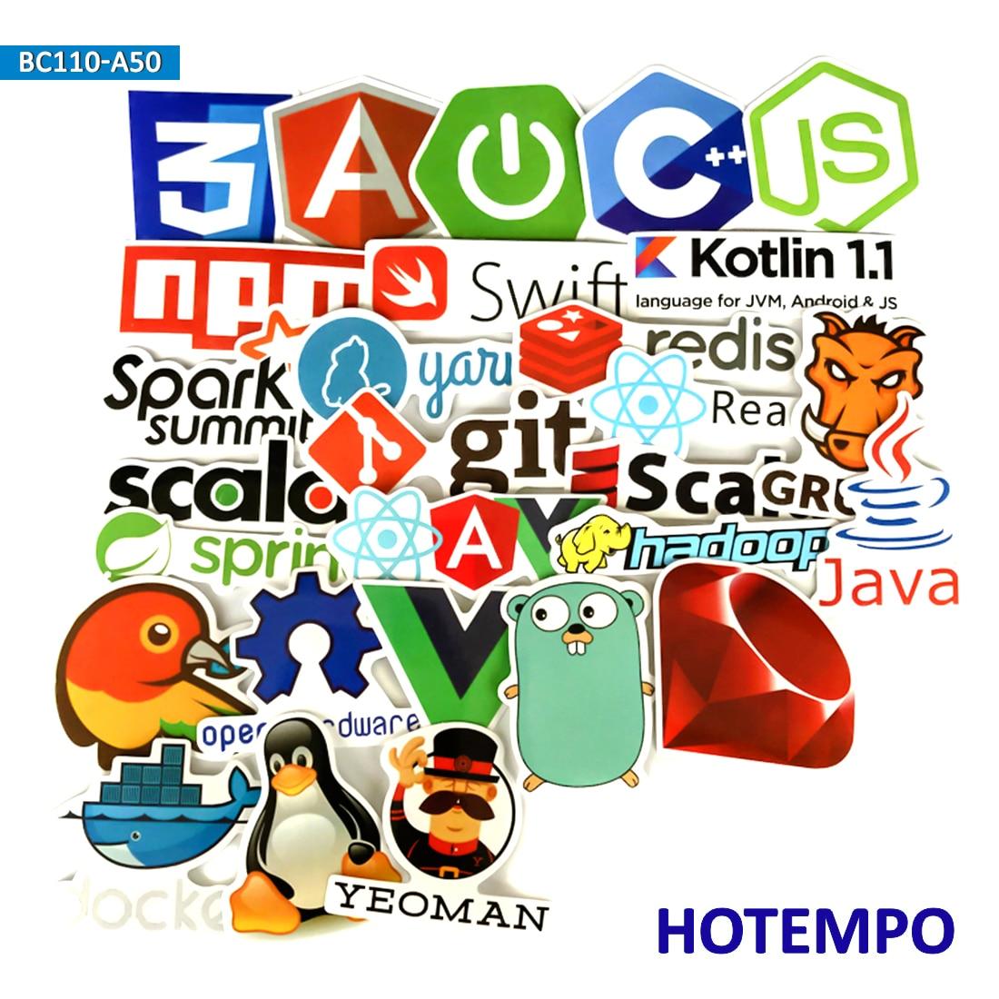 108 Stücke Java Programmierung Aufkleber Internet Sprache Für Telefon Fall Notebook Pc Computer Gepäck Laptop Junge Spielzeug Erwachsene Programer Klassische Spielzeug