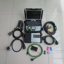 Sd connect 5 МБ Звезда c5 с cf19 ноутбука 2019 новейшее программное обеспечение 320 Гб hdd диагностический инструмент для автомобилей и грузовиков готов к использованию