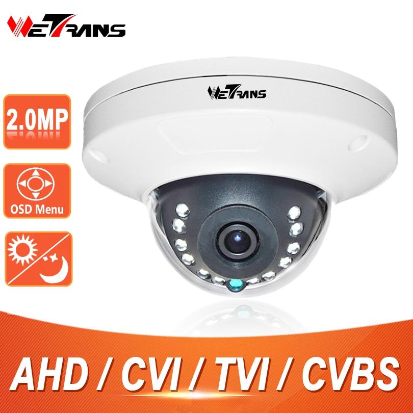 CCTV Camera SONY CMOS Sensor Vandalproof Dome 2.0 Megapixel 1080P Home Camera 10m Night Vision Security Surveillance HD CC 2016 economic cmos 2 0 megapixel 1080p vandalproof waterproof ahd dome cctv camera system