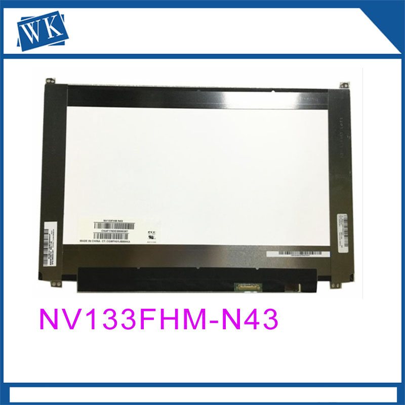 Free Shipping NV133FHM-N43 NV133FHM N43 Laptop Lcd Screen EDP 30 pins 1920*1080 IPSFree Shipping NV133FHM-N43 NV133FHM N43 Laptop Lcd Screen EDP 30 pins 1920*1080 IPS