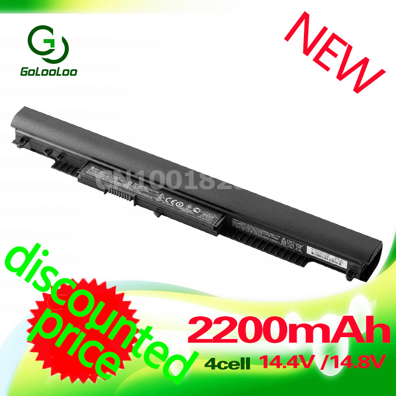 Golooloo 41WH 14.4V 4CELL HS04 Laptop battery For HP Pavilion 14-ac0XX 15-ac0XX 255 245 250 G4 240 HS03 HSTNN-LB6V HSTNN-LB6U hstnn lb6v hs04 hstnn lb6u hs03 laptop battery for hp 245 255 240 250 g4 notebook pc for pavilion 14 ac0xx 15 ac0xx