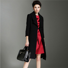 Trench Coat For Women Winter Coats 2016 Fashion Woolen Overcoat Womens Winter Jackets And Coats Wool Female Overcoat