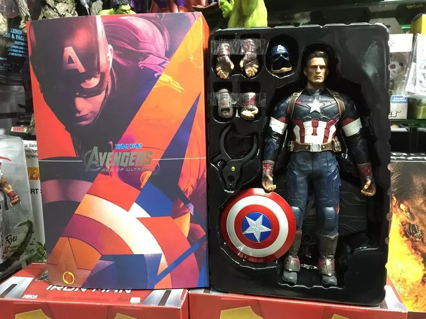 ФОТО New Arrival 1/6 12inch TAIN AMERICA Marvel Captica America PVC Action Figure with Retail Box