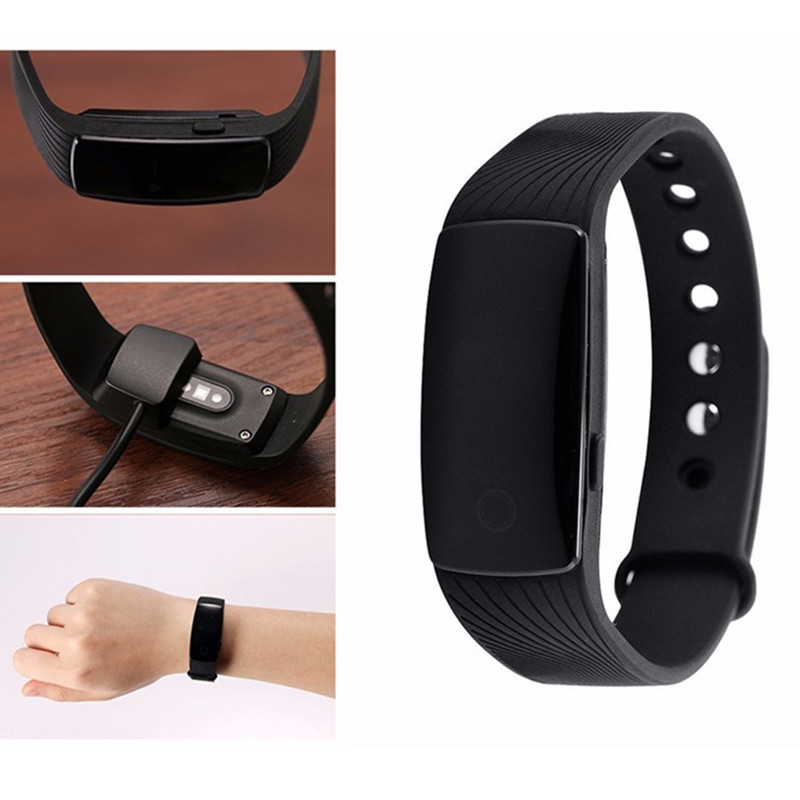 TGETH Wristband ID107 Heart Rate Monitor Smartband Fitness Tracker Sport Bracelet Pulsometer Smart Band PK Fitbits MI Band 2