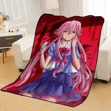 Blankets Nikki Beds Travel for Throw Soft Summer Anime Mirai Custom