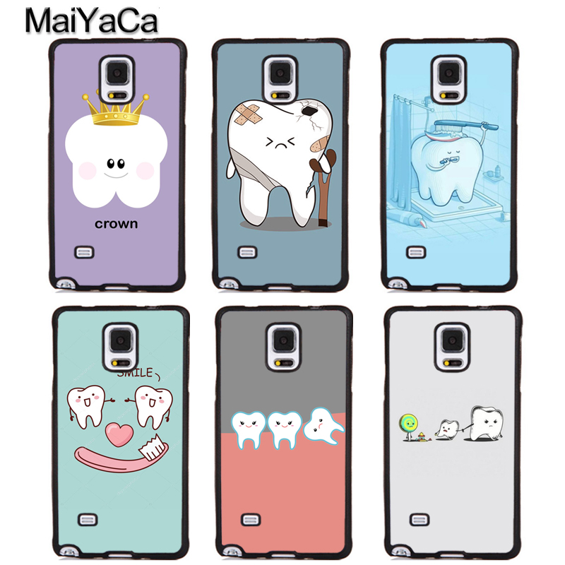 MaiYaCa Dental Definitions Funny Soft Rubber Skin Phone Cover For Samsung Galaxy S5 S6 S7 S8 S9 edge plus Note 4 5 8 Back Case