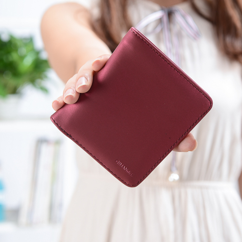 Women Wallet Purse Female Bifold PU Leather Coin Card Holder New Look Style Hot Sale Urban Hipster Stylish Special Designer zelda wallet bifold link faux leather dft 1857