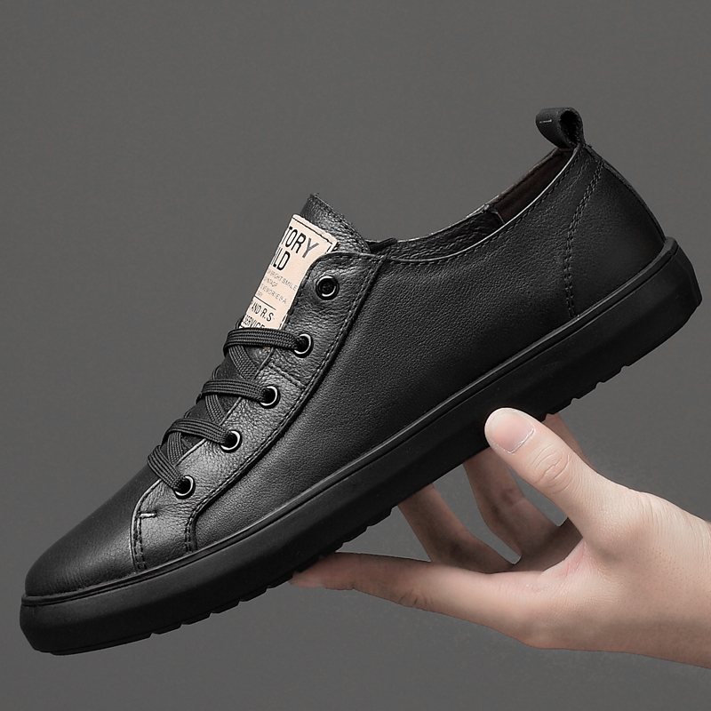 Men Genuine Leather Shoes Sneakers Casual Shoes Moccasins Flat Causal Men Shoes Outdoot Male Footwear Boat Mens Designer Shoes 4