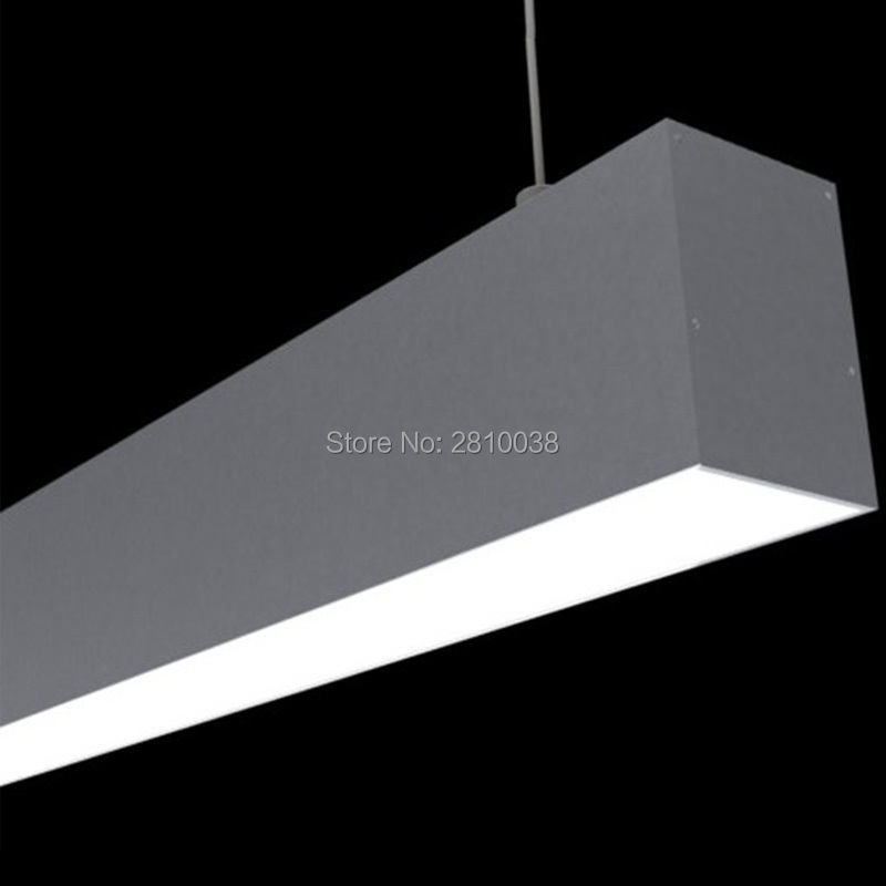 Setul de iluminat de birou de 10 X 1 M / Lot a condus profilul de - Iluminat cu LED
