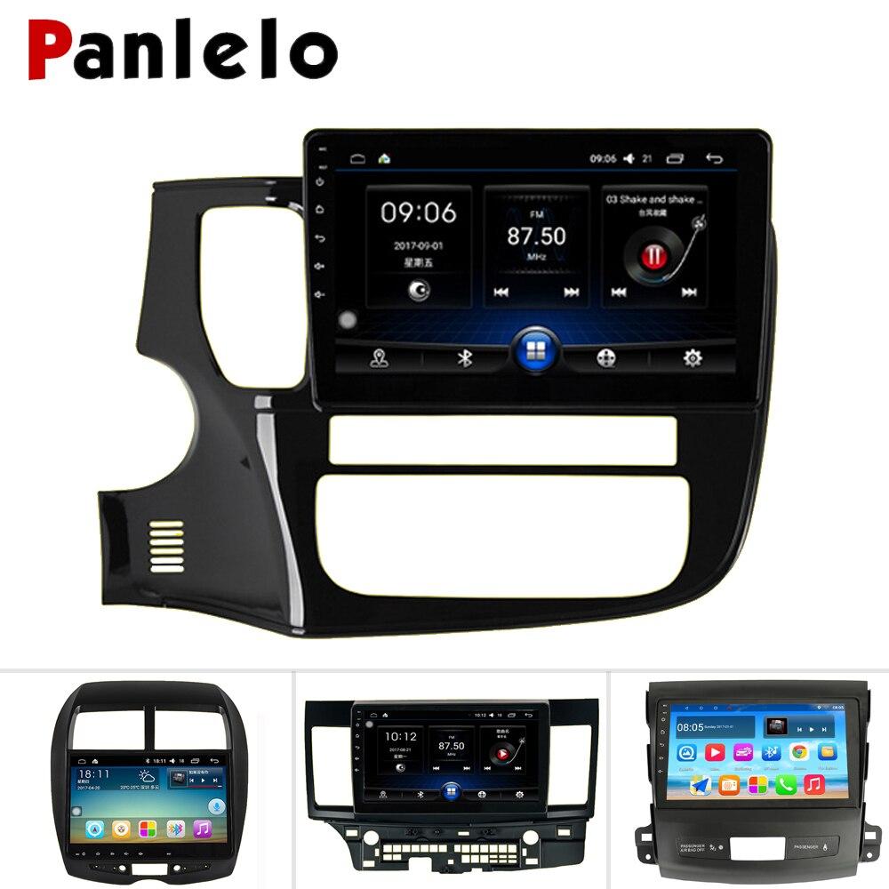 Autoradio Android Panlelo 2 Din pour Mitsubishi Outlander 2 pour ASX Mitsubishi Android pour Mitsubishi Lancer voiture écran tactile