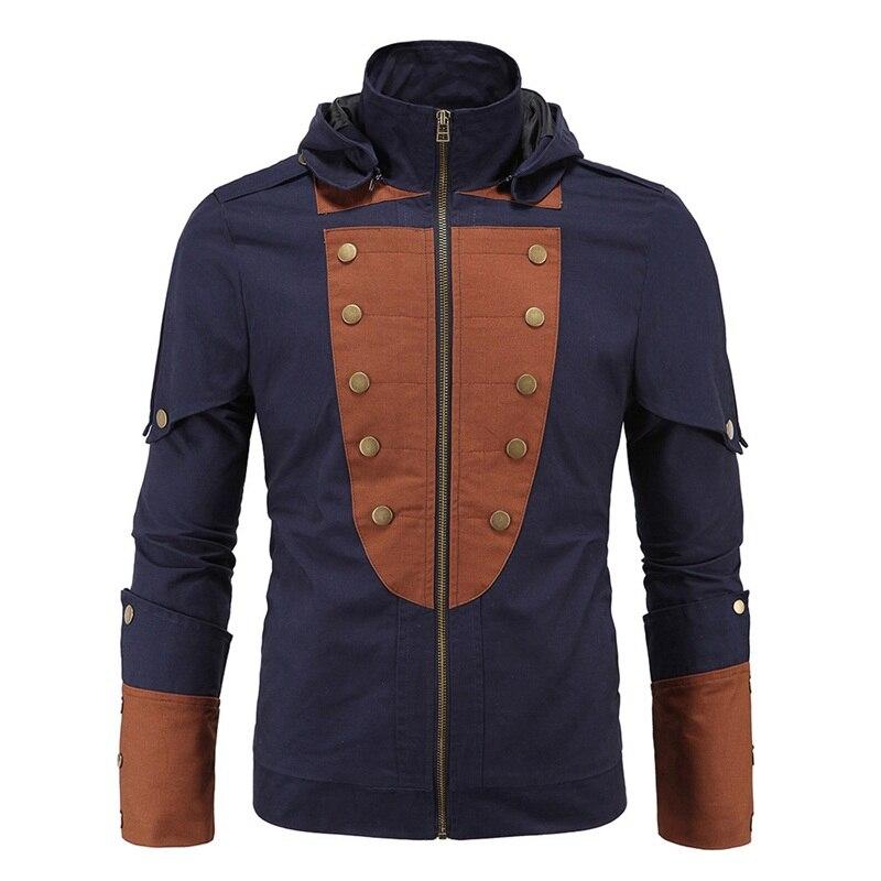 2017 Fashion Brand Hoodies Men Sweatshirt Male Zipper Hooded Jacket Casual Sportswear Moleton Masculino Assassins Creed Outwear ...