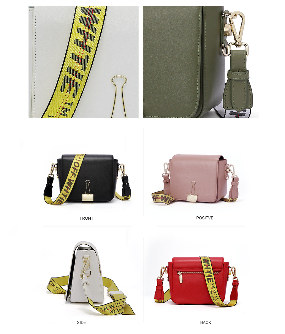 2018 Fashion Bag for lady Off White Bag