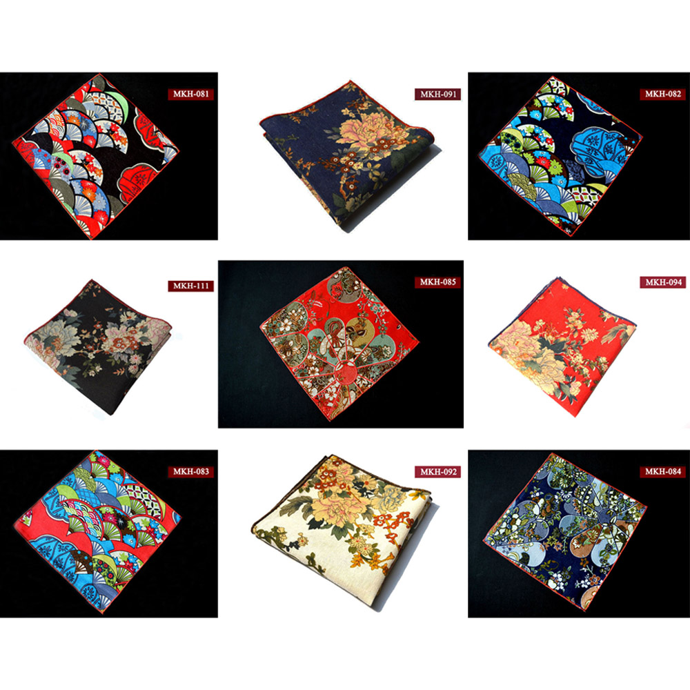 Men Fashion Paisley Flower Handkerchief Pocket Square Wedding Party Hanky YXTIE0008