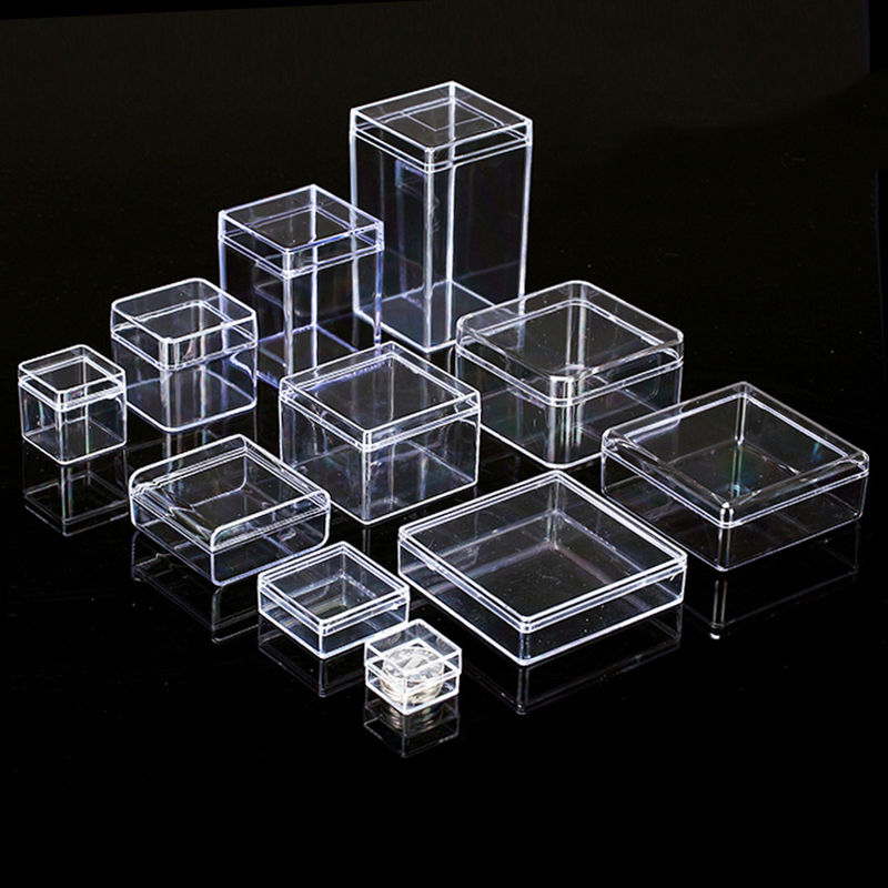 WHOLESALE JOBLOT 100 CLEAR BOXES FOR EARRINGS GIFT STERLING SILVER CARD BLACK