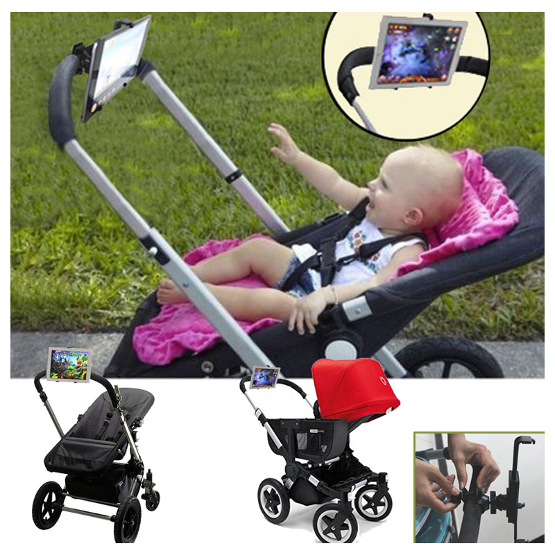Liberal Baby Stroller Accessories Ipad Holder Stand Computer Tablet Trolley Ipad Rack For Baby Listen To Nursery Rhyme Or Watch Cartoon As Effectively As A Fairy Does Activity & Gear Strollers Accessories