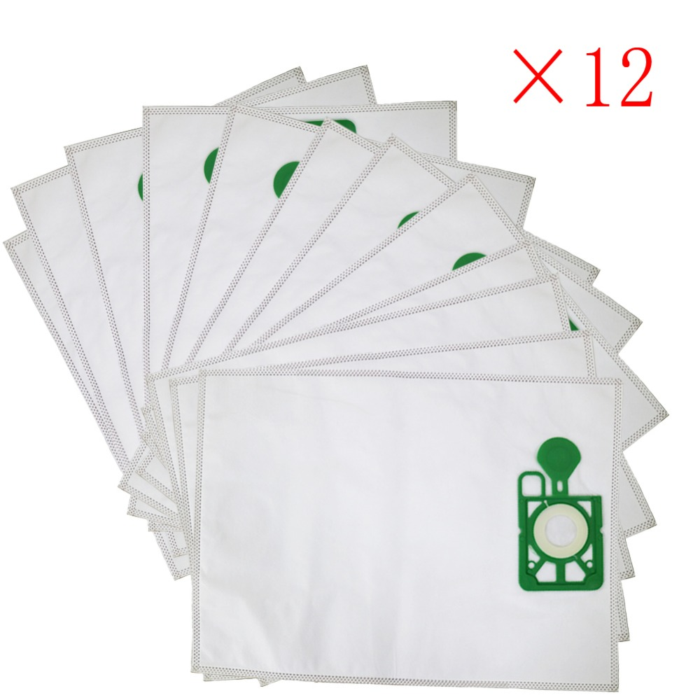 12pcs/lot Vacuum Cleaner Bags HEPA Filter Dust Bag Replacement For Numatic NVM-1CH Henry James NVH200, NRV200, NV200, NV250, NVR
