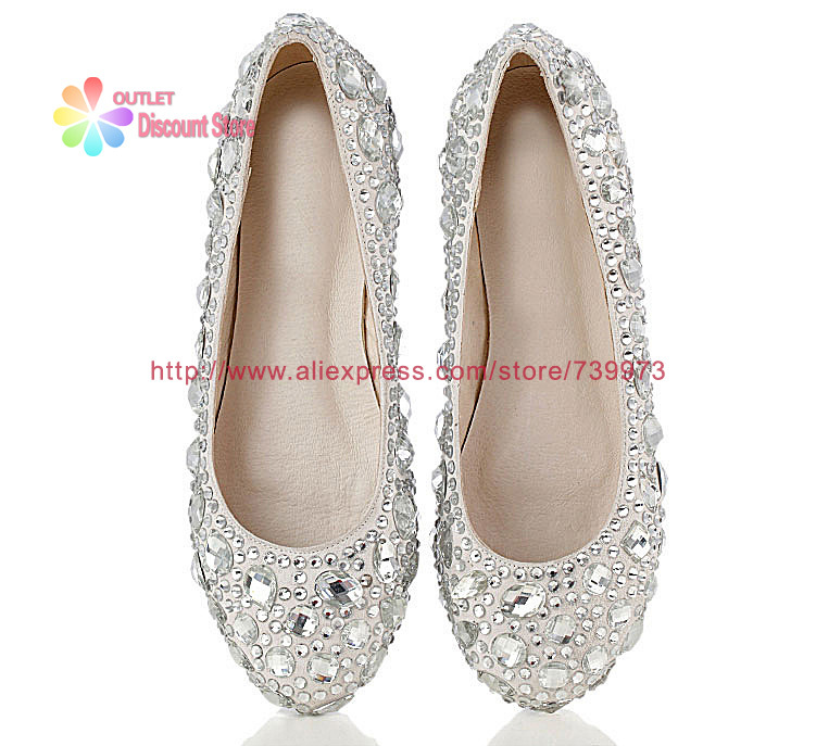 ccf7a0962a9c0 Rhinestone Women Shoes Silver Wedding Shoes Wholesale Bridal Low Heels  Bridesmaid Red Crystal Party Evening Shoes HXS026-in Women s Pumps from  Shoes on ...