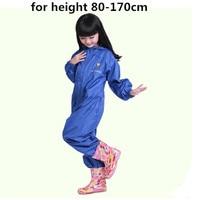 Impermeabile impermeabile per bambini pantaloni Bambino Cappotto di Pioggia Pnocho bambini Rainsuit All'aperto ragazzi ragazza impermeabili per bambini