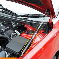 FIT FOR MITSUBISHI LANCER EX 2010 2015 ACCESSORIES CAR BONNET HOOD LIFT SUPPORT GAS SHOCK STRUT CAR STYLING