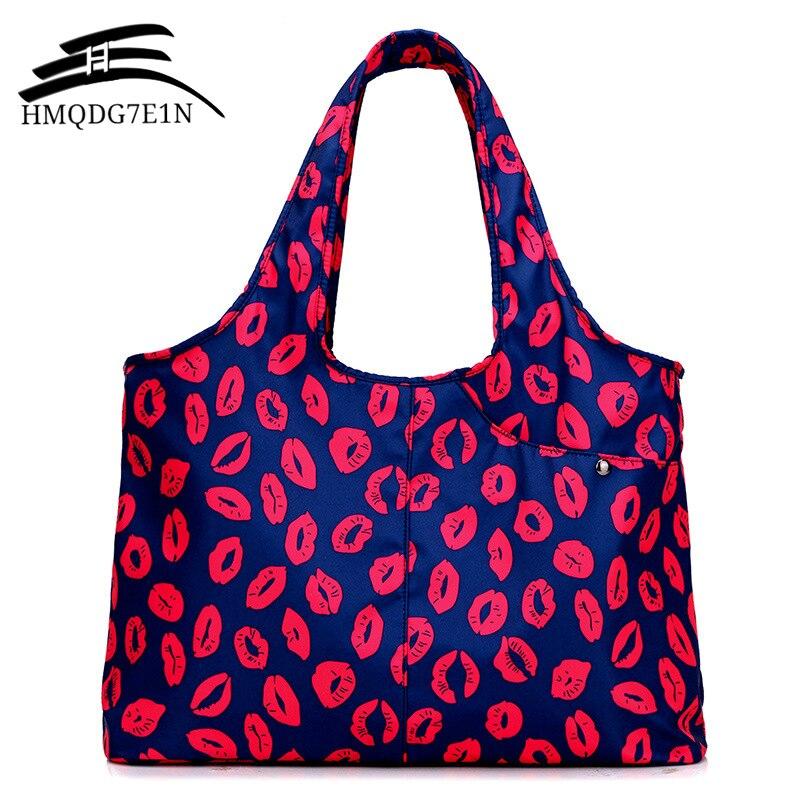 Wasserdicht Nylon Frauen Handtasche Casual Große Schulter Tasche Big Kapazität Multi-funktion mama schulter tasche einkaufstasche