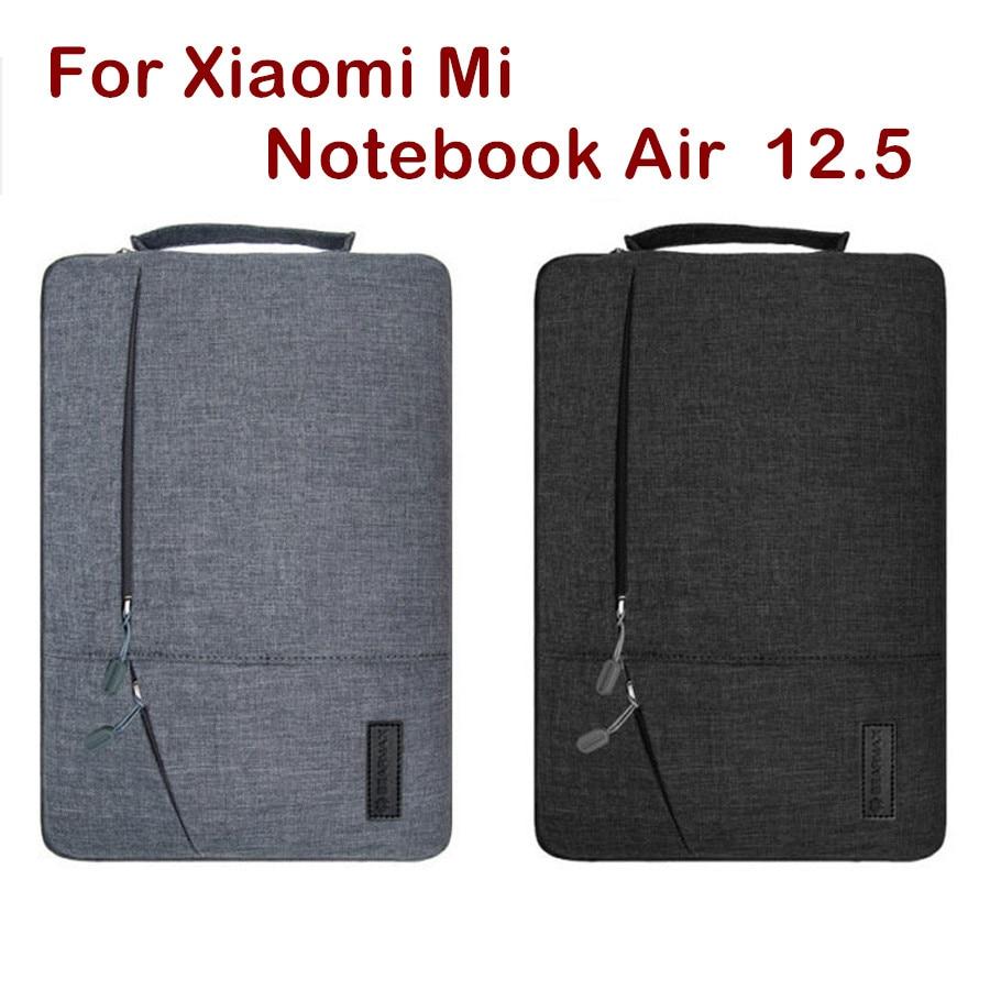 Fashion Sleeve Bag For Xiaomi Mi Notebook Air 12.5 Inch Laptop Pouch Case Creative Handbag Protective Skin Cover Stylus Gift fashionable handbag style protective polyester sponge pouch bag for ipad red