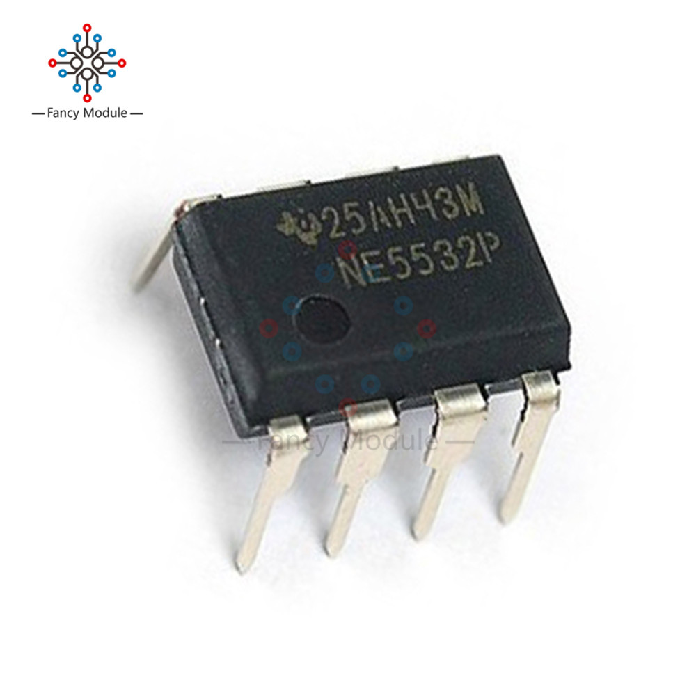 10Pcs NE5532P NE5532 DIP-8 Dual Low Noise Op-Amp TI IC cl1152 dip 8