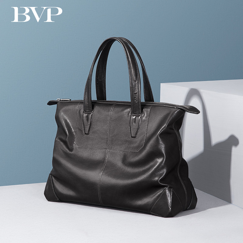 Soft Leather Business Laptop Briefcase Genuine Leather Mens Document Bag 14 Inch Computer Bag  Cowhide Leather Traveling Bag J20 цена и фото