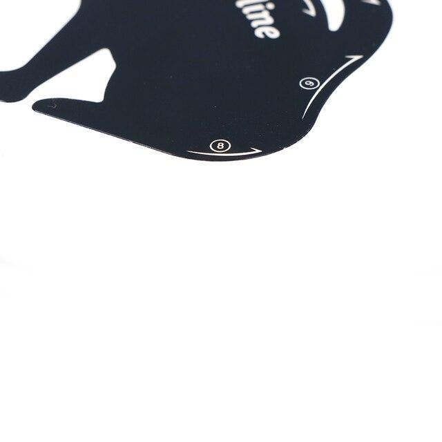 2Pcs/Set New Cat Line Eye Makeup Eyeliner Stencils Templates Makeup Tools Kits For Eye 3