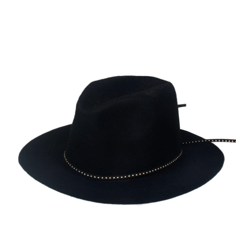 6 шт./лот новые модные женские туфли Для мужчин шерсть autunm зима фетровая шляпа Фетр Панама женская флоппи Дерби шляпа Кепки Головные уборы
