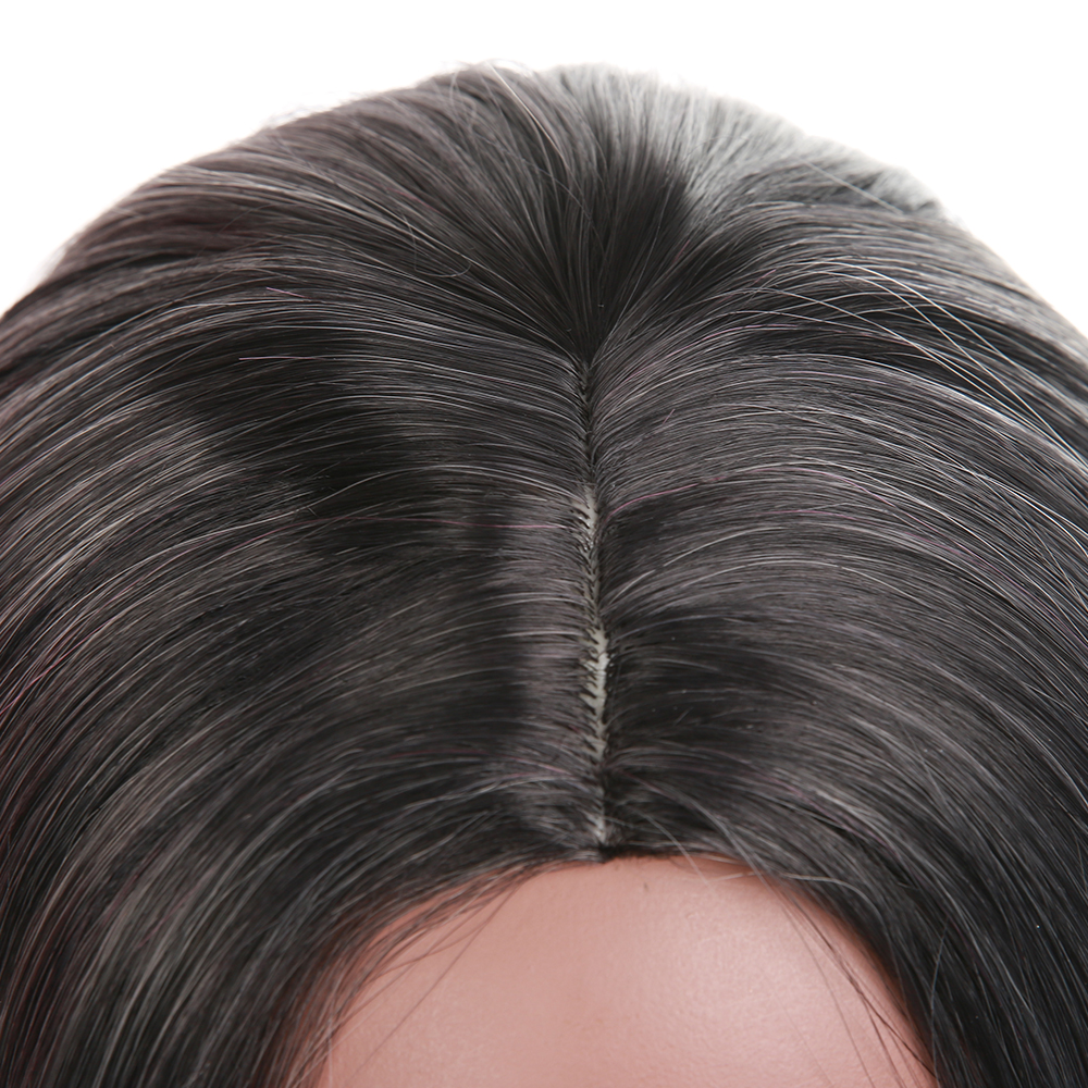 Element Synthetic Wig 16 Inch Bob Straight Hair Heat Resistant Fiber