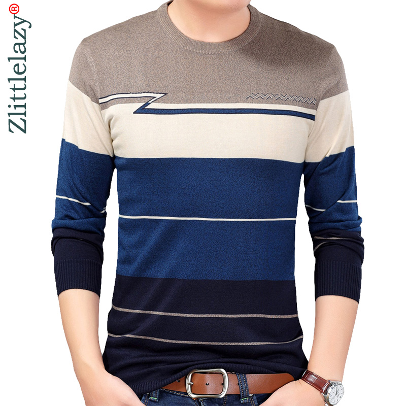 new concept 15c46 2e45c 2018 designer pullover striped men sweater dress thin jersey knitted  sweaters mens wear slim fit knitwear fashion clothing 10032
