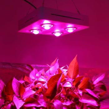 600W 900W COB LED Büyümek Işık Tam Spektrum Kapalı Hidroponik sera bitkisi Tüm Sahne Büyüme Yerine UFO Büyüyen lambası