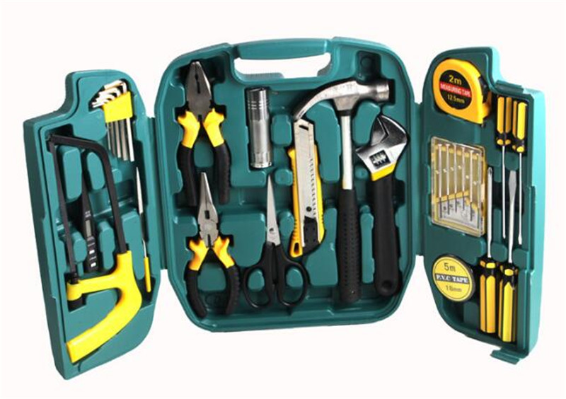 Multi Tool for Home, Combination Tools for Auto including Saw Kit Ferramentas Herramienta Ganzo Saw, Screwdriver Set with box.