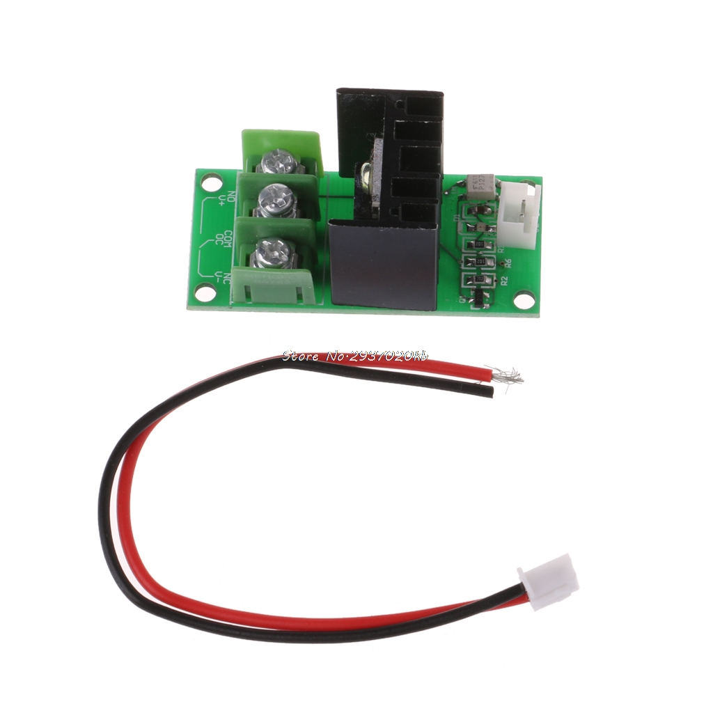 Hot Sale 3d Printer Bed Power Expansion Board Heatbed Module Transistor Relay Circuit Mos Tube High Current Load 50a 5 40v