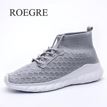 Sneakers Mens Shoes Casual Mesh Breathable Large Size Men's Shoes Outdoor Trainers 2019 New Fashion Spring Zapatos De Hombre